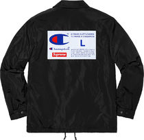 3 WEEK Supreme FW 18 Champion Label Coaches Jacket