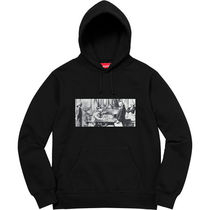 3 WEEK Supreme FW 18 Reconstructed History Sweatshirt
