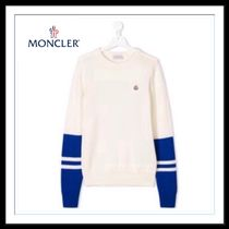 ★★MONCLER《大人も着れる》TEEN TWO TONE SWEATER  送料込★★
