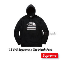 Supreme The North Face Metallic Logo Hooded Sweatshirt