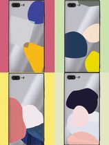 Geeky★design Abstractionケース iphone galaxy全対応