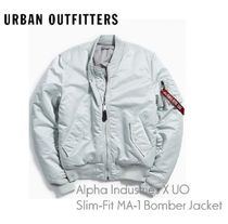 URBAN OUTFITTERS×Alpha Industries ★MA-1 Bomber Jacket gray