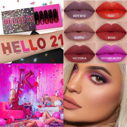 NEW! kylie cosmetics★BIRTHDAY HELLO21 ミニリップ6本セット