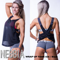 【送料込】NEBBIA WRAP UP TANK 626 - Black