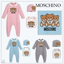 Moschino☆BABY シューズギフト3Pセット gray/pink/blue 1-12M