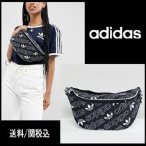 【adidas】人気!Originals Bum Bag In All Over Logo Print ♪