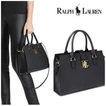 【セール!在庫あり】Ralph Lauren  Brigitte II Medium Satchel