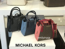 追跡有 Michael Kors★9月新作 KIMBERLY SM SATCHEL 2wayバッグ