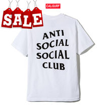 【在庫処分SALE】ANTI SOCIAL SOCIAL CLUB LOGO T /WHITE/L size