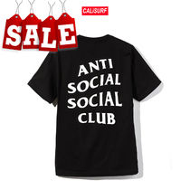 【在庫処分SALE】ANTI SOCIAL SOCIAL CLUB LOGO T /BLACK/L size