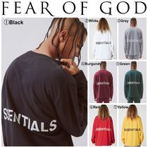 FEAR OF GOD(フィアオブゴッド) Tシャツ・カットソー 【FEAR OF GOD】☆18-19AW新作☆ Boxy Graphic LS T-Shirt