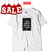 【在庫処分SALE】ANTI SOCIAL SOCIAL CLUB BOX LOGO TEE/L size