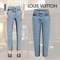 VIP価格【Louis Vuitton】PANTALON EN DENIM DELAVE AVEC