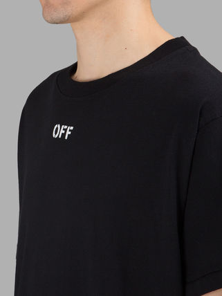 Off-White Tシャツ・カットソー 即発送 OFF WHITE SPRAY DIAGONALS T-SHIRT(5)