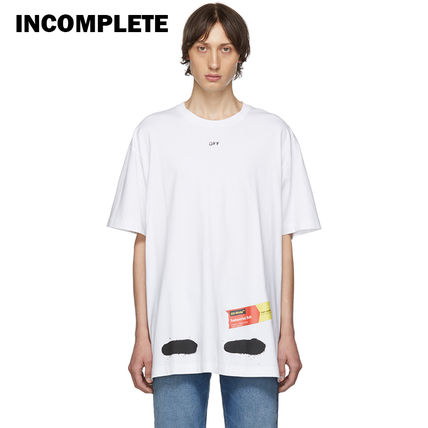 Off-White Tシャツ・カットソー 即発送 OFF WHITE SPRAY DIAGONALS T-SHIRT(16)