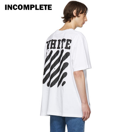 Off-White Tシャツ・カットソー 即発送 OFF WHITE SPRAY DIAGONALS T-SHIRT(17)