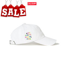 【在庫処分SALE】ANTI SOCIAL SOCIAL CLUB  Rainbow White Cap