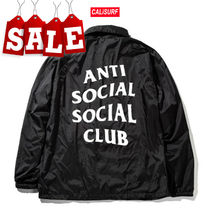 【在庫処分SALE】ANTI SOCIAL SOCIAL CLUB COACH JACKET/Sサイズ