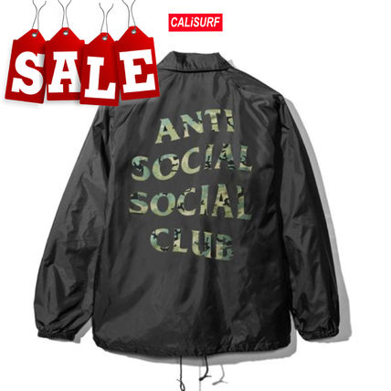 ANTI SOCIAL SOCIAL CLUB ジャケットその他 【在庫処分SALE】ANTI SOCIAL SOCIAL CLUB COACH JACKET/Lサイズ