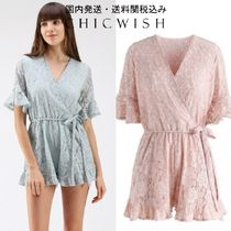 国内発送・送料関税込☆Chicwish☆Ode to Floral Lace Playsuit