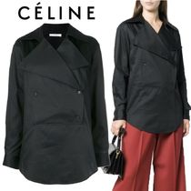 【18AW】★CELINE★double-breasted blouse