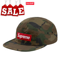 【在庫処分SALE】AW18 Supreme reflective camo camp cap/WDLN
