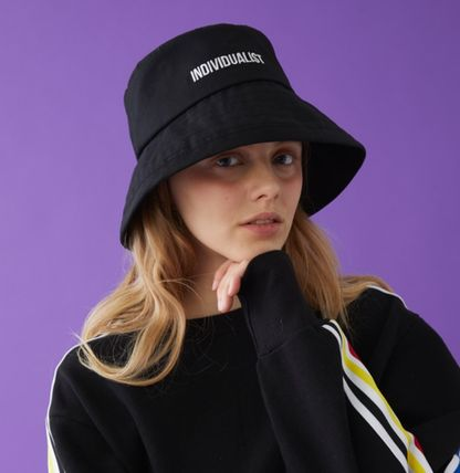 ... MSKN2ND ハット INDIVIDUALIST BUCKET HAT BLACK ロゴハット(4) ... a513564d95a