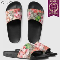 【正規品保証】GUCCI★18秋冬★GG BLOOMS SUPREME SLIDE SANDAL