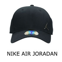 NIKE AIR JORDAN☆BLACK COTTON JUMPMAN CAP