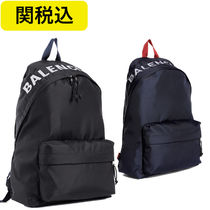 ★関税無料★BALENCIAGA backpack logo