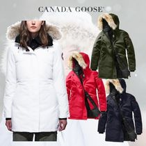 CANADA GOOSE Victoria Parka 華やかに印象を与える 4色展開