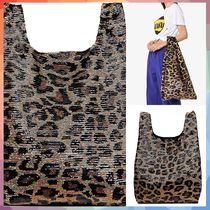 Ashish(アシシュ ) トートバッグ 【送料・関税等込み】Classic Big Leopard Sequin Tote Bag