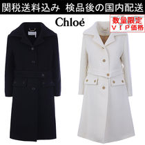 少数入荷 新作SALE★Chloe★wool single-breasted coat