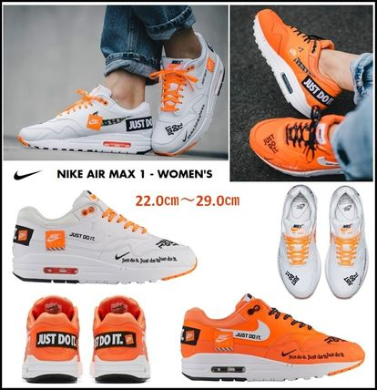 "Nike スニーカー 【NIKE】 NIKE AIR MAX 1 LUX ""JUST DO IT"" ★Women's"