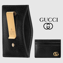 【GUCCI】GG Marmont ☆ マネークリップ付き カードケース