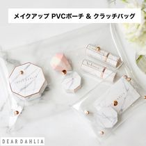DEAR DAHLIA(ディアダリア) メイクポーチ ディアダリア メイクアップPVC ポーチ & クラッチバッグ