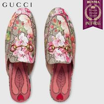【正規品保証】GUCCI★18秋冬★PRINCETOWN GG BLOOMS SLIPPER