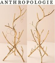 関税送料込 [Anthropologie] Golden Branch Jewelry Stand