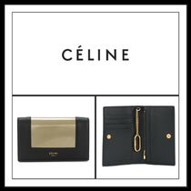 ★CELNE《 BLACK AND GOLD LEATHER SNAP KEYRING 》送料込み★