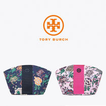 【TORY BURCH】Tilda Printed Nylon Medium Cosmetic Case