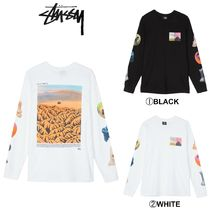 【STUSSY】☆18-19AW最新作☆PRIMORDIAL WORLD L/SL TEE
