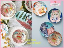 最安値*関送料込【Anthro】Eastern Animal Dessert Plate 2枚SET