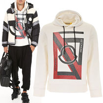 5 MONCLER CRAIG GREEN White Hooded Sweatshirt