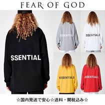 【FEAR OF GOD】FOG Essentials Boxy Graphic ロンT (送関込)