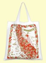 ★The Red & White Kitchen★CA RED MAP トートバッグ(L)