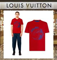 18AW Louis Vuitton ☆ダブルレイヤーTシャツ レッド
