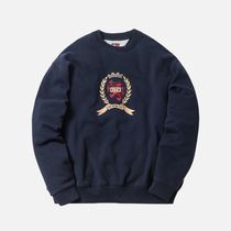 KITH NYC(キスニューヨークシティ) Tシャツ・カットソー KITH X TOMMY HILFIGER CREST CREWNECK navy s トップス
