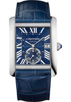 Cartier(カルティエ)  Tank MC Blue Dial Stainless Steel Men's