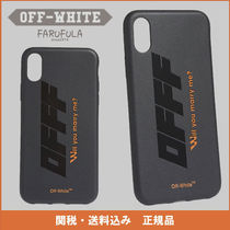OFF-WHITE C/O VIRGIL ABLOH  IPHONE X CASE