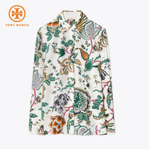 【TORY BURCH】Erica Shirt - Ivory Happy Times